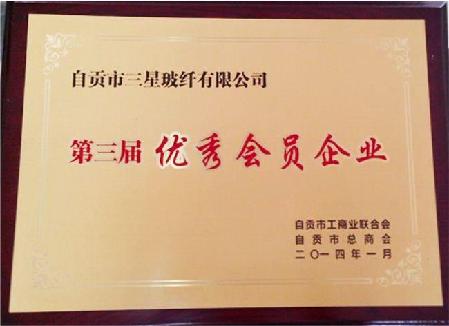 亿博电竞体育第三届优秀会员企业
